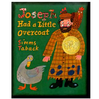 joseph had a little overcoat book cover
