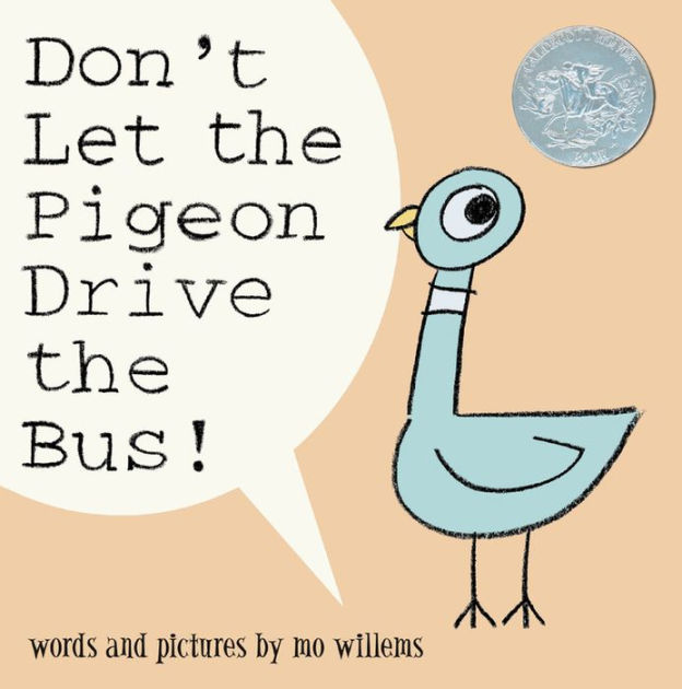 dont let the pigeon drive the bus book cover