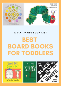 best board books for toddlers